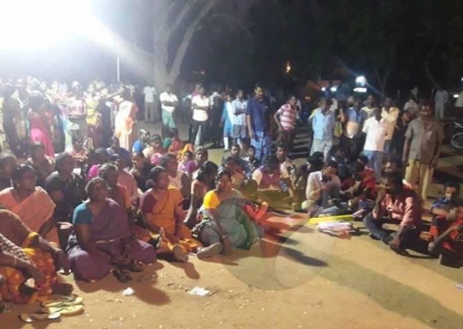 Sterlite Industries, A.Kumarettiyapuram, Pandarampatti, Villages Protest