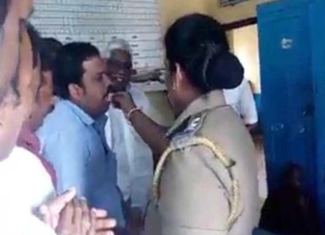 DMK Students wing officer birthday celebration image