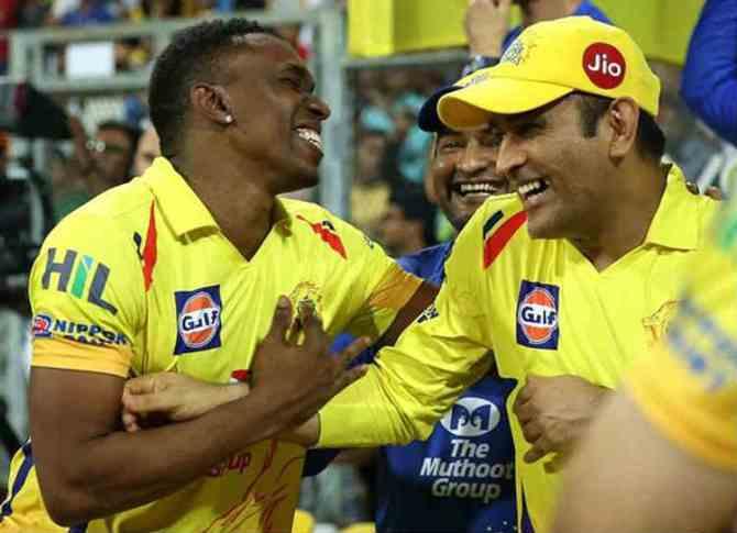 IPL 2018 Winner - dhoni-bravo