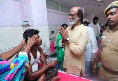 Rajinikanth Met Thoothukudi victims, Anti Sterlite Protests