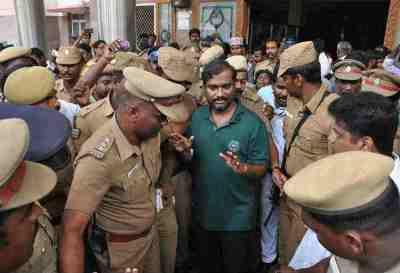 Velmurugan Arrest, Tamilnadu Government