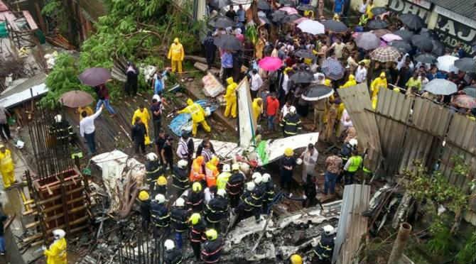 Mumbai, Ghatkopar Plane Crash: