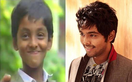 GV Prakash Childhood Photos