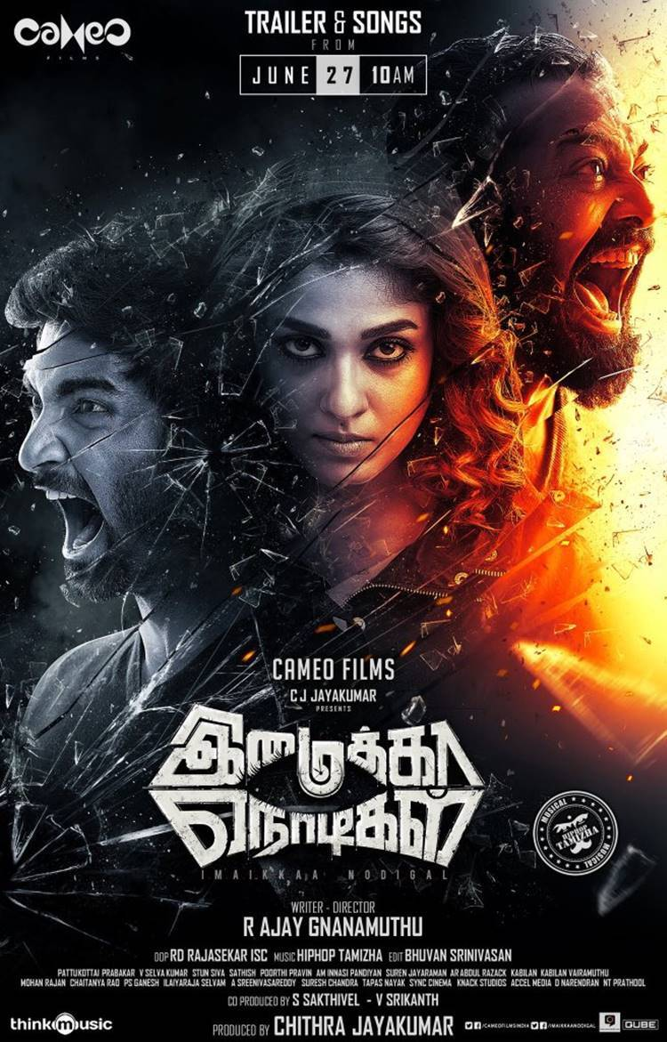Imaikka Nodigal Audio and Trailer Release