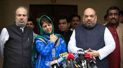 PDP and BJP Coalition