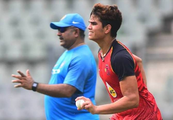 Arjun Tendulkar in India U19 Team, Plus And Minus