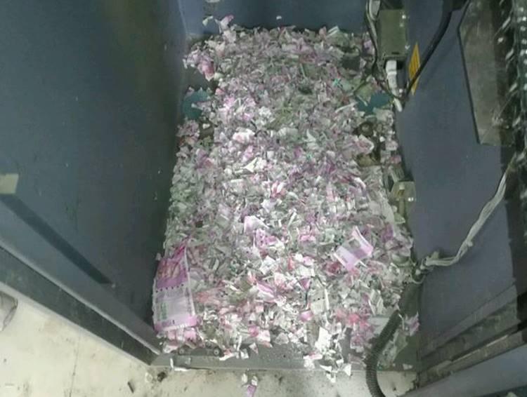 Assam SBI ATM : Rat destroy Cash : அசாம் ஏடிஎம் ரூபாய் நோட்டுகள் சேதம்
