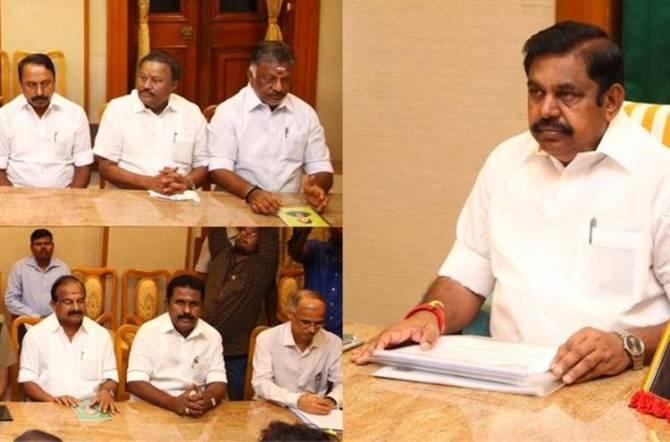 Cauvery Water Management Authority Meeting, Edappadi Palaniswami