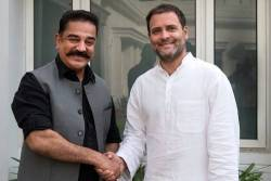 Kamal Haasan-Rahul Gandhi Meeting, Tries to join DMK Alliance