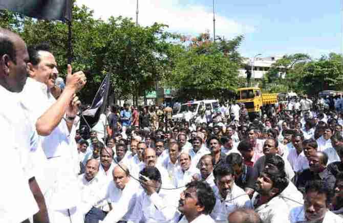 MK Stalin Arrested, Charges TN Governor, Edappadi K.Palaniswami