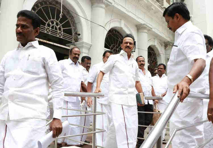 MK Stalin walk out, TN Assembly