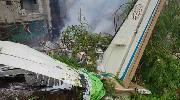 Mumbai chartered aircraft crash