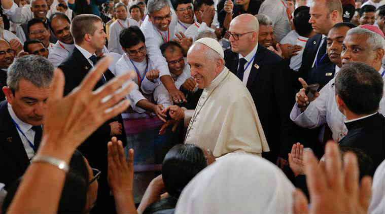 Pope Francis in China