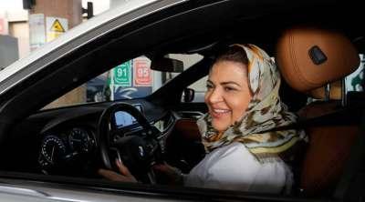 Saudi Women Driving Car