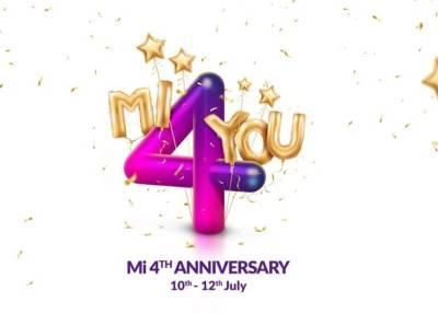 Xiaomi Mi 4th Anniversary Sale Deals : இந்தியாவில் 4 ஆண்டுகளை நிறைவு செய்தது சியோமி