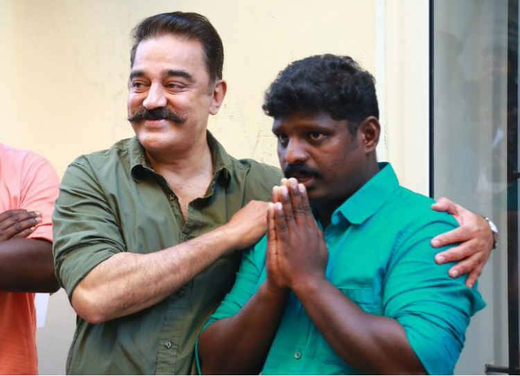 Kamal Haasan Meets Kerala singer Rakesh Unni