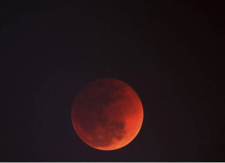 Blood moon, Lunar Eclipse Today Time