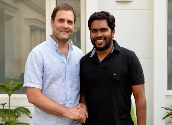Rahul Gandhi meet ranjith