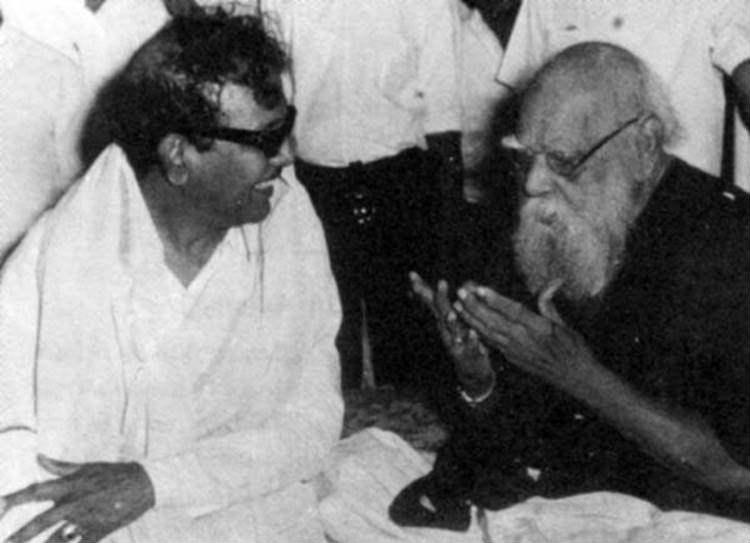 DMK Chief M.Karunanidhi - Thanthai Periyar