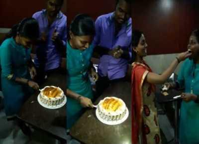 reporter shalini last birthday celebration