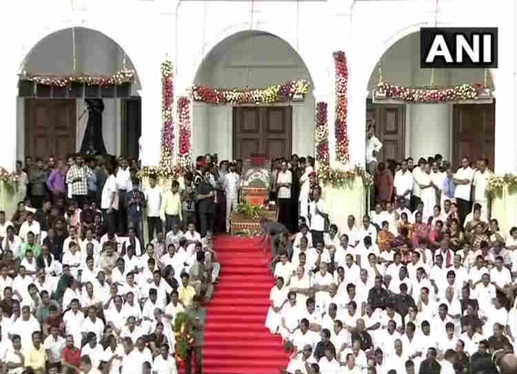 Karunanidhi Funeral