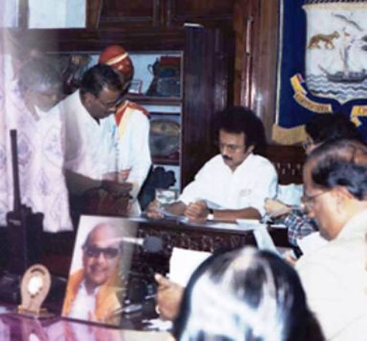 DMK New Chief MK Stalin