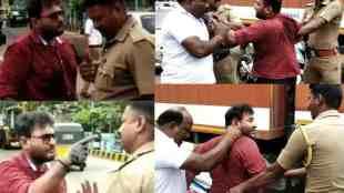 Nagercoil youth police fight, நாகர்கோவில் இளைஞர்