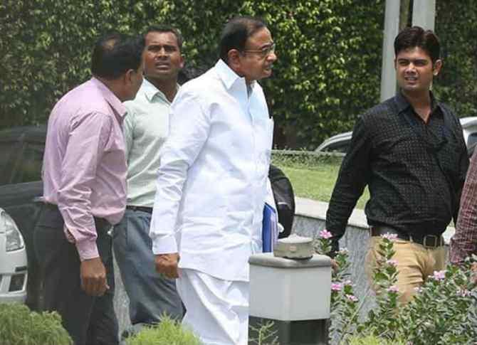 P Chidambaram INX Media Case CBI ED Probe