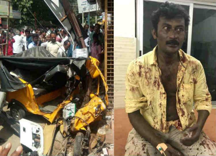 coimbatore car accident, கோவை கார் விபத்து