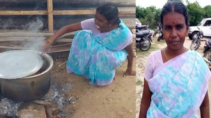 pappal mid day meal cook, பாப்பாள்