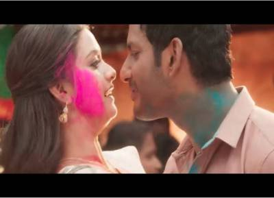 sandakozhi 2 song promo, சண்டக்கோழி 2