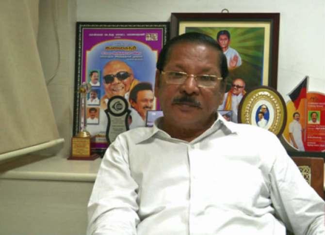 DMK Senior Leader RS Bharathi arrested