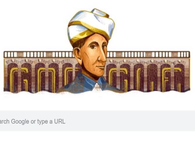 விசுவேசுவரய்யா, விசுவேசுவரய்யா பிறந்த நாள், கூகுள் டூடுல்