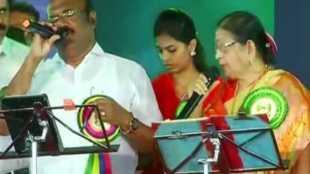 Minister Jayakumar sing song, அமைச்சர் ஜெயக்குமார்