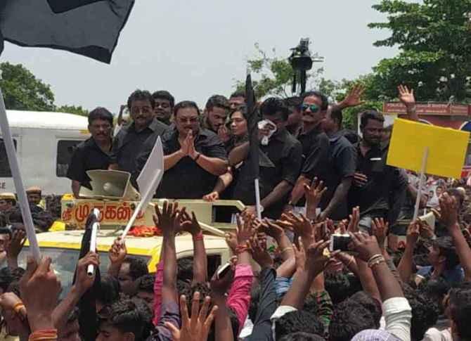 azhagiri press meet, மு.க. அழகிரி