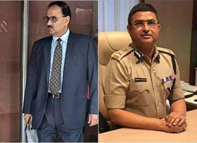 சிபிஐ அதிகாரிகள் அலோக் வர்மா ராகேஷ் அஸ்தானா