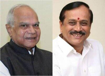 H. Raja Meets TN Governor in Rajbhavan: ஹெச்.ராஜா, பன்வாரிலால் புரோகித்,H. Raja Meets TN Governor in Rajbhavan