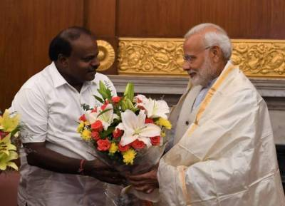 மேகதாது அணை கட்ட பிரதமர் மோடியை வலியுறுத்திய குமாரசாமி