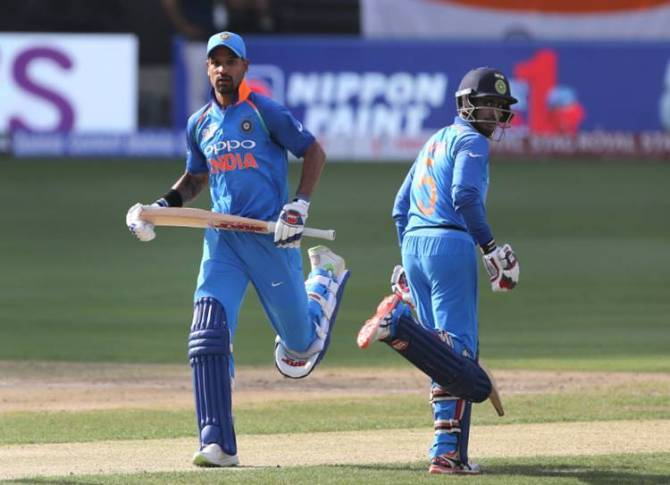 India vs HongKong Live cricket score