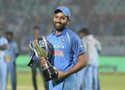 Rohit sharma as captain