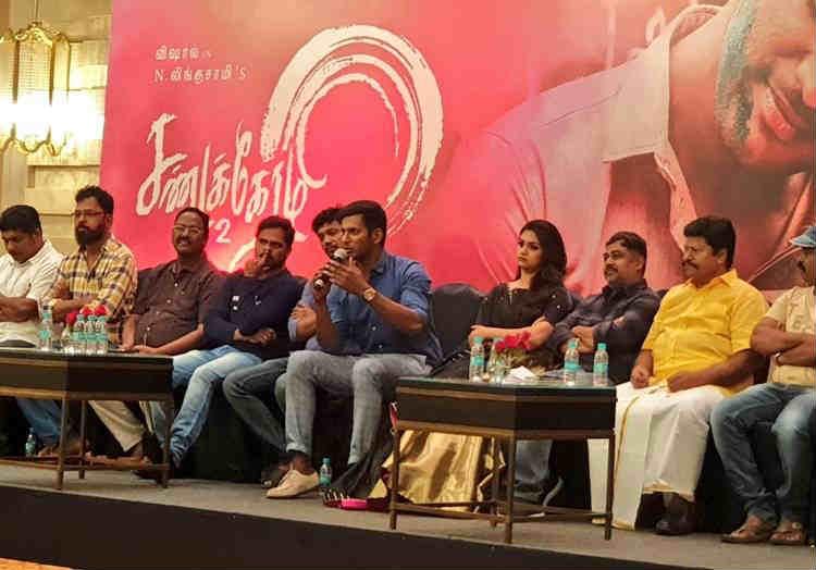 Sandakozhi 2 Audio Launch in Chennai: சண்டக்கோழி 2 ஆடியோ வெளியீட்டு நிகழ்ச்சி