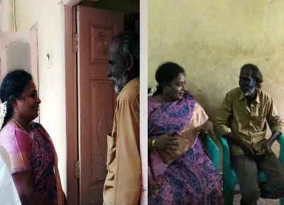 tamilisai soundarrajan meet auto driver kathir, தமிழிசை சவுந்தரராஜன்