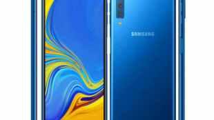 Samsung Triple Camera Phone: