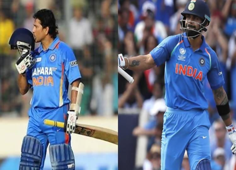 Sachin - kohli comparison