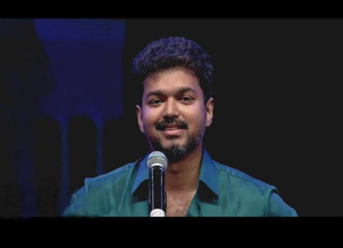 actor vijay speech, நடிகர் விஜய்