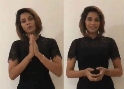 அவங்க எல்லாரும் என்ன மன்னிச்சிருக்கோங்க : பிக் பாஸ் 2 ஐஸ்வர்யா வீடியோவில் மன்னிப்பு!