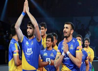 Tamil Thalaivas vs Telugu Titans Pro Kabaddi Season 6 Live Streaming