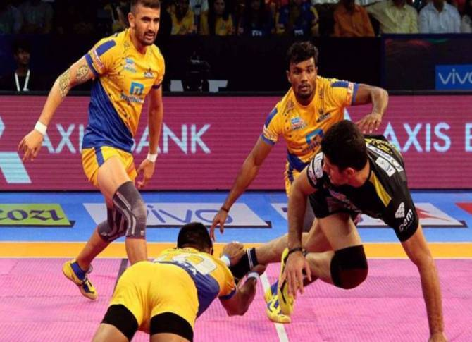 Tamil Thalaivas vs Telugu Titans Pro Kabaddi Live Streaming