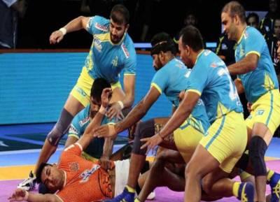 Tamil Thalaivas vs Gujarat Fortunegiants Pro Kabaddi Live Score