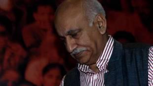 மத்திய வெளியுறவுத் துறை இணை அமைச்சர் எம்.ஜே. அக்பர் , #MeTooIndia #MJAkbar